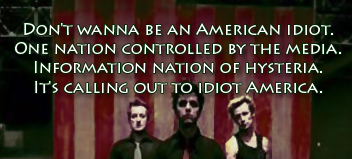 An American Idiot by Green Day