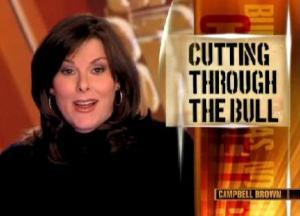 Campbell Brown of CNN's No Bias, No Bull