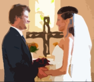 Anyone not notice the religious aspect of marriage