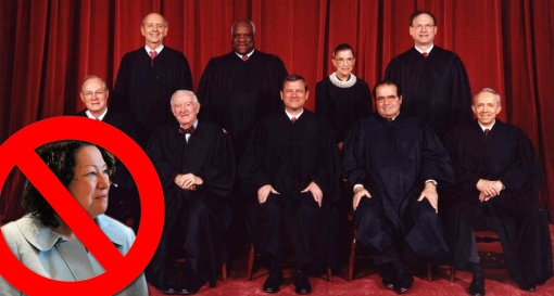Sotomayor does not belong