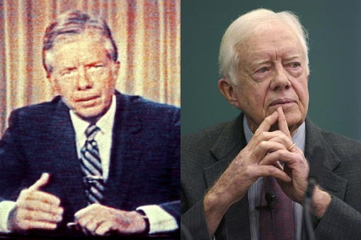 A failure in 1979, Carter thinks he's relavent again