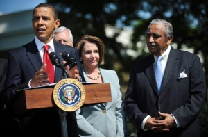 Rangel is an important player in Pelosi's health care fight