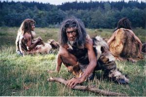 Cavemen have small footprints
